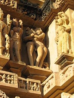 Ősi szerelmi jelenetek Indiában - Khadzsuraho