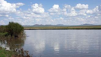 Kherlen River - Near Ondorkhaan