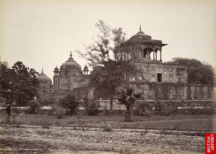 Khusru Bagh, Allahabad, 1870s
