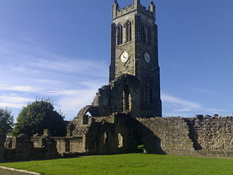 Kilwinning Abbey - Image: Kilwinning Abbey Today