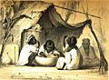 Kinder Poi essend Hawaiische Inseln, lithograph after Plum.jpg