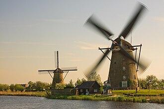 Kinderdijk - Active windmill