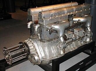 U engine - Bugatti U-16