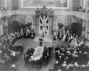 John Buchan - Mackenzie King delivers an address at the installation of Lord Tweedsmuir as Governor General of Canada, 2 November 1935