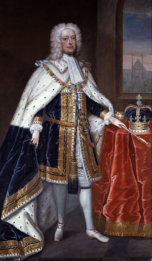 Georgian era - Image: King George II by Charles Jervas