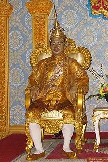 Cambodian king