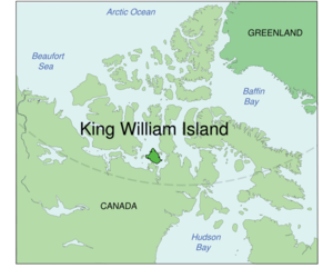 Lage von King William Island