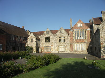 Salisbury Museum, housed in the King's House. Kings House Salisbury Museum.jpg