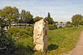Kingston Richmond Boundary stone, Thames Path, Ham.jpg