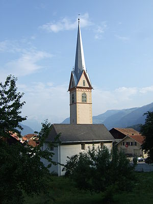 Sils im Domleschg - Church in Sils im Domleschg