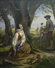 Kirsten Svendsdatter Finds the Gold Horn at Gallehus on 20 July 1639