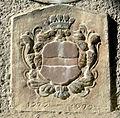 Kiskunlacháza town hall relief.JPG