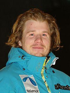 Kjetil Jansrud Norwegian alpine skier