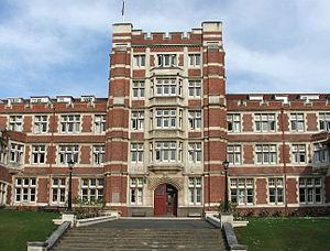 Knox College, Otago - Knox facade