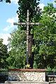 Kościół św. Anny (krzyż misyjny)- Zabrze, pl. Pieruszki - A 320 10 z 17.11.2010 KS.JPG