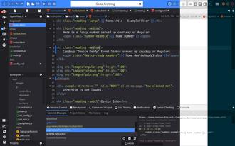 Komodo Edit - Image: Komodo ubuntu ss