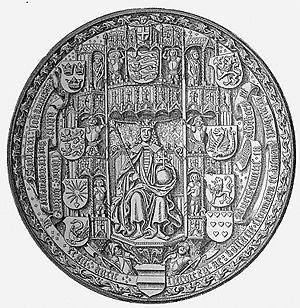 John, King of Denmark - Seal of King John of Denmark, Norway and Sweden