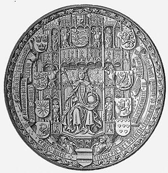 John, King of Denmark - Seal of King John of Denmark, Norway and Sweden