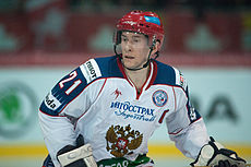 Konstantin Gorovikov - Switzerland vs. Russia, 8th April 2011 (2).jpg