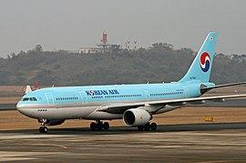 대한항공의 에어버스 A330