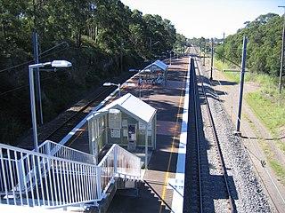 Kotara railway station railway station in Newcastle LGA, New South Wales, Australia