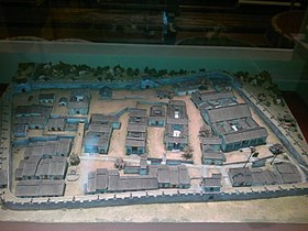 Kowloon Walled City Early Stage Model in History Museum.jpg