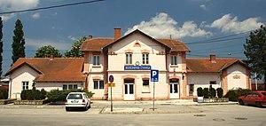 Kruševac - Image: Kruševac, nádraží