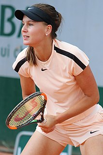 Veronika Kudermetova Russian female tennis player