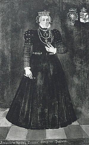Kunigunde of Sternberg - Image: Kunhuta ze Šternberka