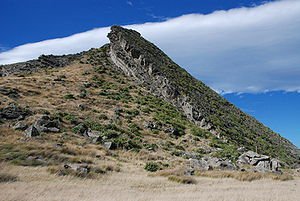 Tectonic uplift - Image: Kupe's Sail 20070331