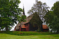 Kvernes Stave Church from the street.jpg