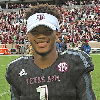 Under Armour All-America Baseball Game - 2014 alumnus Kyler Murray with the Texas A&M Aggies in 2015