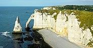 L'Aiguille et la Porte d'Aval-Etretat-Normandie