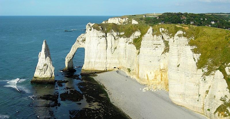 Falaise - Littoral - Mer - Océan - Plage - Étretat - Normandie - SchoolMouv - Géographie - CM1