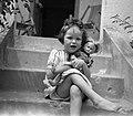 Lány, 1946 Budapest. Fortepan 12833.jpg