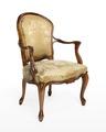 Länstol, 1700-talets mitt - Hallwylska museet - 110078.tif