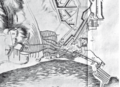 L'attaque de Sabionera, dans Das lange bestrittene Königreich Candia…, op. cit. Gravure de Mathaeus Merian (cropped).png