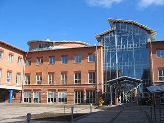 Linnaeus University - Campus in Växjö