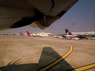 Chiang Mai International Airport - Airplanes at Chiang Mai International Airport