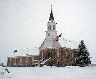 Loa, Utah - LDS church in Loa