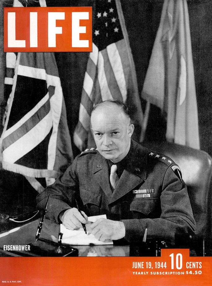 LIFE 06191944 Eisenhower cover