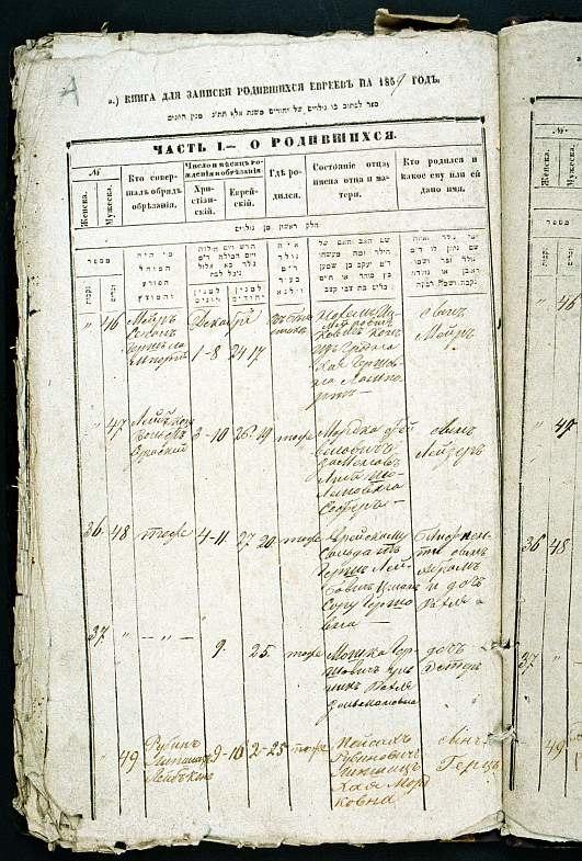 LL Zamenhof birth certificate