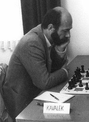 Lubomir Kavalek - Kavalek in 1980