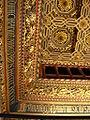 La Aljafería - Sala del trono - Techumbre - Detalle.JPG