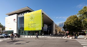 Mercialys - La Caserne de Bonne, one of the shopping malls leased by Mercialys.