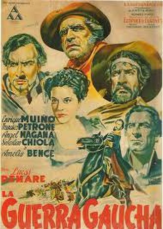 The Gaucho War - Theatrical poster