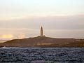 La Torre de Hércules desde San Pedro (A Coruña).jpg