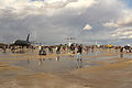 La pista de la Base Aérea de Torrejón hacia el final de la tarde (15352487528).jpg