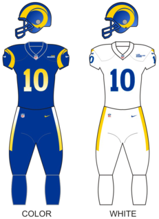 Los Angeles Rams National Football League franchise in Los Angeles, California