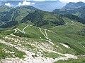 La strada militare che porta alla cima del Monte altissimo di Nago.jpg